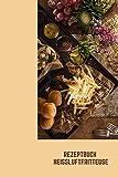 Rezeptbuch Heißluftfritteuse: Rezeptheft zum selberschreiben | seblst gestalten | blanko ( leer) | A5 | Heissluftfriteuse