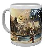 GB eye Assassins Creed Origins - Taza (madera, 15 x 10 x 9 cm), multicolor
