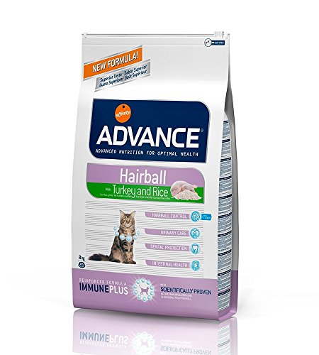ADVANCE FELINE STERILIZED HAIRBALL POLLO Y CEBADA 10 KG