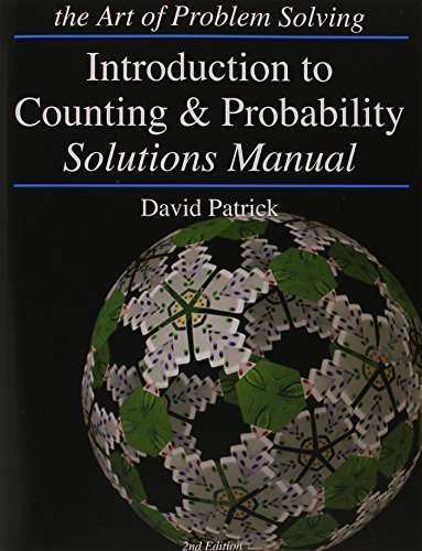 Compare Textbook Prices for Introduction to Counting and Probability: Art of Problem Solving Solution Manual Edition ISBN 9781934124116 by Patrick, David