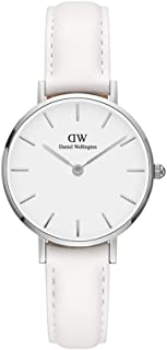 Daniel Wellington Dress Watch Analog Display Japanese Quartz Movement For Women Dw00100250, White Band