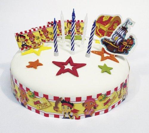 Disney Junior Amscan Jake Kit de décoration de gâteau