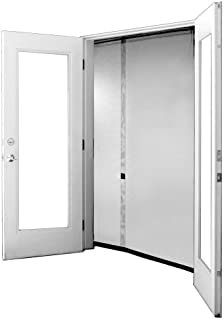 Bug Off 64R by 80 Instant Screen - Reversible Fits French Doors and Sliding Glass Doors