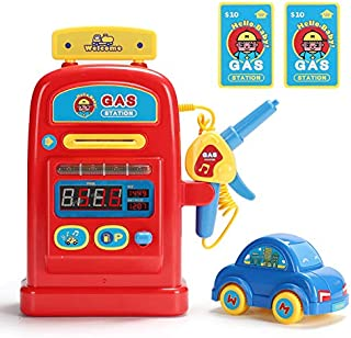MOWA Gas Pump Station Toy, with Sound Kids Education Learning