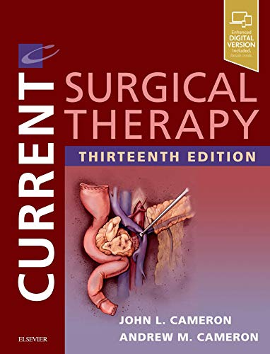 Compare Textbook Prices for Current Surgical Therapy 13 Edition ISBN 9780323640596 by Cameron MD  FACS  FRCS(Eng) (hon)  FRCS(Ed) (hon)  FRCSI(hon), John L.,Cameron MD  PhD  FACS, Andrew M.