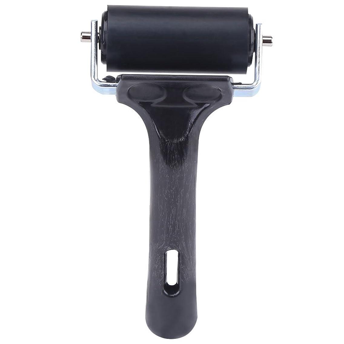 2.3 inch Soft Rubber Brayer,Rubber Brayer Roller Paint Brush Ink Applicator Art Craft Oil Painting Tool