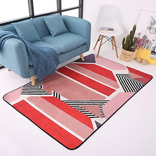 Creative Light- Tapis Modernes Canapé Table Basse Salon Carpet Chambre Rectangle de Chevet Home Mats (Taille : 190cm × 240cm)