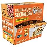 SUCRALOSA Ecologica Natural Edulcorante Granulado Dulcilight 500 SOBRES, CON PRACTICO DISPENSADOR Producto SABOR Y CALIDAD PREMIUM