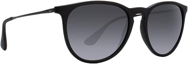 Ray-Ban RB4171 Erika Sunglasses Matte Black w/Grey Gradient (622/8G) 4171 6228G 54mm Authentic