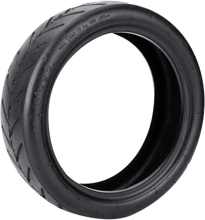 Yosoo Health Gear 1pcs Neumáticos Huecos, Durable Scooter Eléctrico Neumáticos de Goma Sólidos para Mijia M365