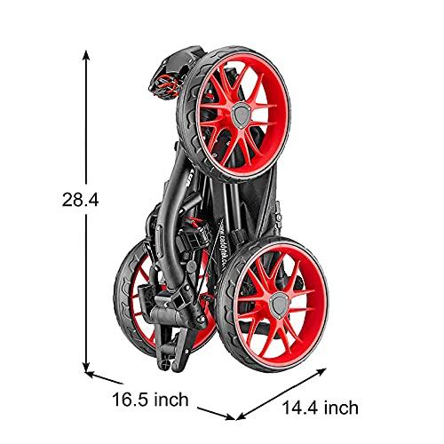 Caddytek EZ-Fold Golfwagen mit 3 Rädern - 5