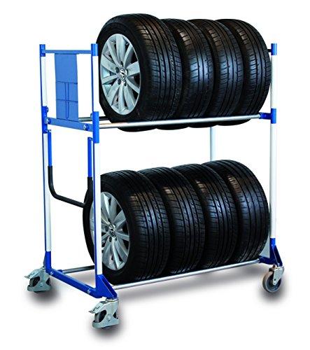 Kunststoffkantenschutz für Reifenregal wagen Felgenregal Reifenregal Reifenwagen