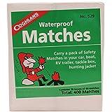 Coughlan's Lot de 10 boîtes d'allumettes étanches pour Homme Marron