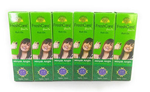 Fresh Care Medicated Oil Aromatherapy - Green Tea, 10 Ml (Pack of 6)