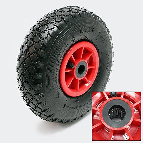 Reifen für Profi Transport Stapelkarre Sackkarre 3.00-4 HT2046 Lager Ø 21 mm Luftreifen