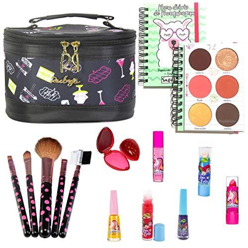 Necessaire Maleta Infantil Com Kit Maquiagem Completo MKI119