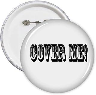 Cover Me Game Art Déco Cadeau Mode Pin's Badge Badge Emblème Accessoire Décoration 5pcs