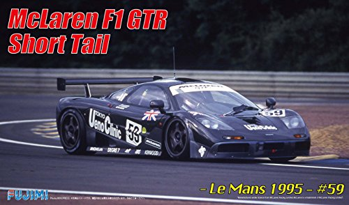 1/24 Rial Serie No.23 coche de deportes de McLaren F1 GTR cola corta Le Mans 1995 Nº 59