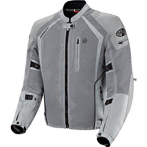 Joe Rocket Phoenix Ion Men's Textile On-Road Motorcycle Jacket - Silver