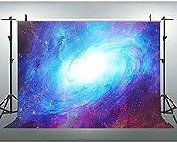 新しい7x5ftギャラクシー背景宇宙宇宙写真背景ビデオ写真スタジオ小道具 179