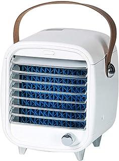 ZYPPX Mini Aire Acondicionado Portátil USB Espacio Personal Air Cooler, Humidificador, Purificador, Ventilador para Hogar, Dormitorio Y Oficina