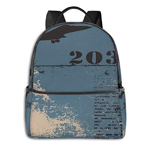 School Backpack for Men Women Teenager Daypack Fit 15.6 Inch Laptop Satchels Rucksack, Grunge 15 Casual Travel Backpack