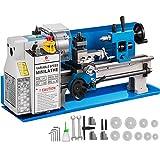 VEVOR 550W Mini-Metalldrehmaschine Präzisionsdrehmaschine 7x14 Zoll Mini-Drehmaschine 2500 U/min...