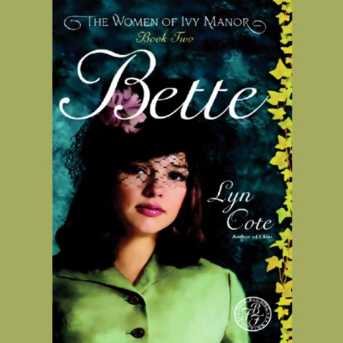 Bette audiobook cover art