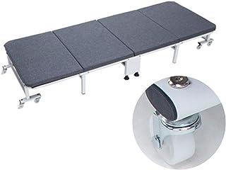 GYYARSX-Lit Camp Pliable Lit Pliant Panneau Dur Épaissi Lit D'éponge Haute Densité Personne Célibataire Portable Accueil L...