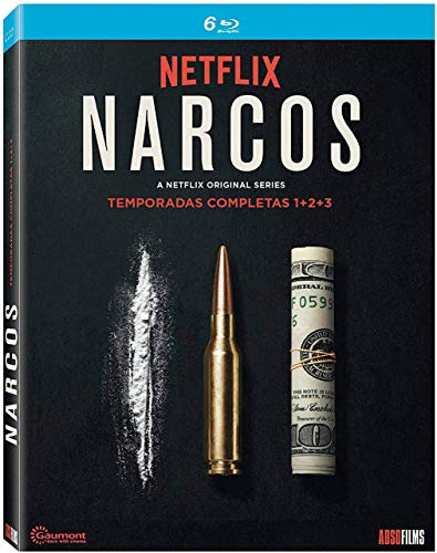 Narcos 1ªT+2ªT+3ªT -BD [Blu-ray]