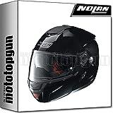 NOLAN CASCO MOTO MODULARE N90-2 SPECIAL METAL NERO 012 TG. XL