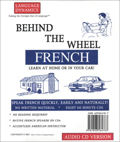 Behind the Wheel French (8 CD Course) (French Edition)