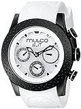 MULCO Unisex MW5-1962-018 Analog Display Swiss Quartz White Watch