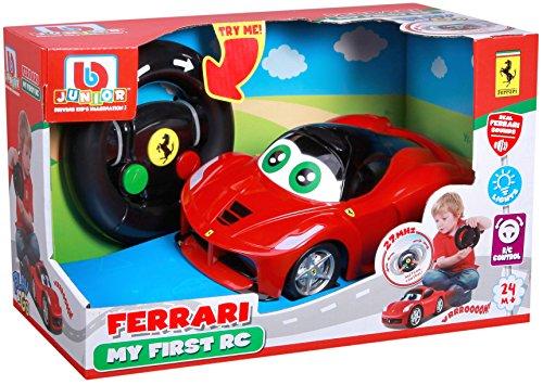 Bb Junior My First RC: Ferngesteuertes Auto LaFerrari ab 24 Monaten, mit Licht & Sound, inkl. Fernbedienung mit Bewegungssensor, rot (16-91002)