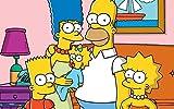 IUWAN Colección Jigsaw Puzzle - Full Color (1000 Piezas) The Simpsons Photo - DIY Adult Kids Grown Up Puzzles Juegos educativos para niños Adultos Regalos 38x26 cm