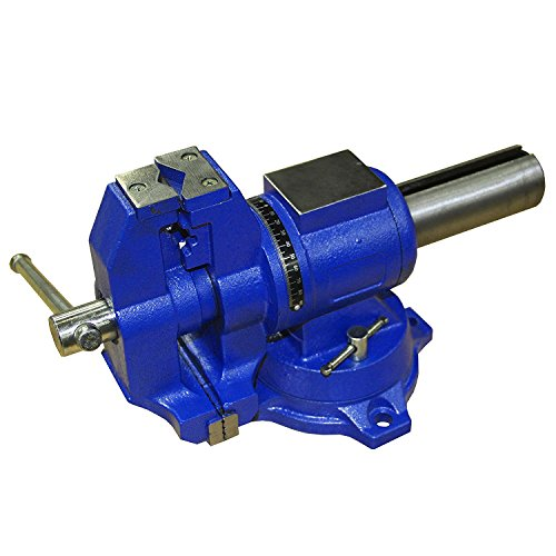 HFS (R) Multi-Purpose Rotating Bench Vise - Heavy Duty - Locking Base (4IN)