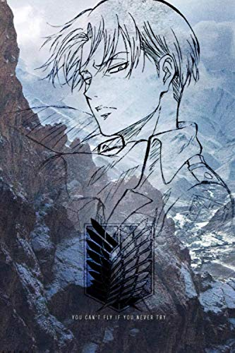Notebook: Levi Ackerman Journal | Attack on Titan Levi Notebook for Anime Lovers | 110 Blank Lined...