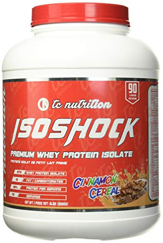 TC Nutrition IsoShock Cinnamon Cereal 5lb, 2.27 g