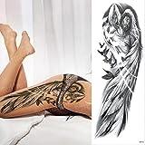 Handaxian 3pcs Brazo Completo Set león Tatuaje Rey Tatuaje Impermeable 3pcs-1