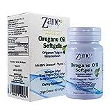 Zane Hellas High Quality Oregano Oil Softgels. Extra Strength. Every Softgel Contains 15% Pure Greek Essential Oil of Oregano. 64 mg Carvacrol per Softgel. 60 Softgels.