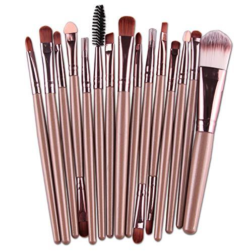 Hosaire 15 Piezas Maquillaje Profesional Los Cepillos