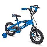 Huffy Kid Bike, Moto X, Quick Connect, Gloss Blue, 12'