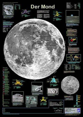 Der Mond (Planet-Poster-Box)