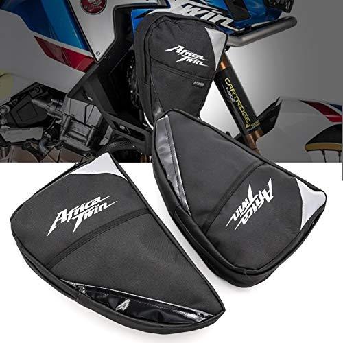 Zouyuan Crash Bar per Telaio del Motociclo Borsa Impermeabile per Attrezzi di Riparazione Borsa per Honda CRF1000L Africa Twin CRF1000L Adventure Sports