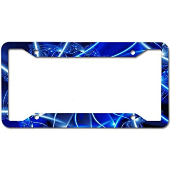 Funny Popular Car Licenses Plate Covers Holders for US CA Vehicles Evelynmat Classic Universal Aluminum License Plate Frame