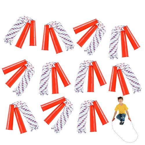 ArtCreativity 84 Inch Nylon Ropes for Kids - Pack of 12 -...