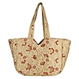 Vanya Handicraft Collection's A Cutest & Beatuiful Silk Banjara Handmade Handbag & Tote Handbag for Women & Girls (Golden & Red)