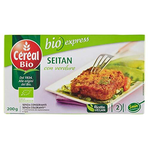 Céréal Bio, Seitan con Verdure - 200g