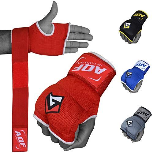 AQF Boxbandagen MMA Innenhandschuhe Fur Boxhandschuhe Gel Handschuhe Kampfsport Muay Thai Stretch V2 Herren & Damen
