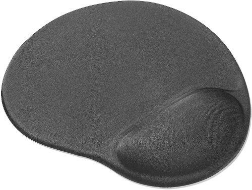 Speedlink Vellu Gel-Mauspad mit Handballenauflage (Unterlage mit Handgelenkauflage, Gel-Kissen zur Entlastung des Handgelenk) grau